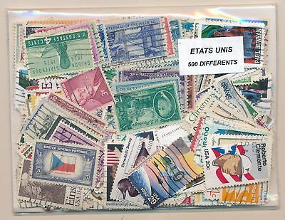 United States Package 500 stamps different