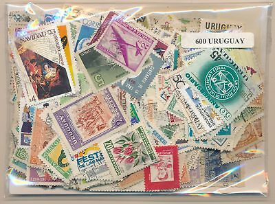 Uruguay Package 600 stamps different