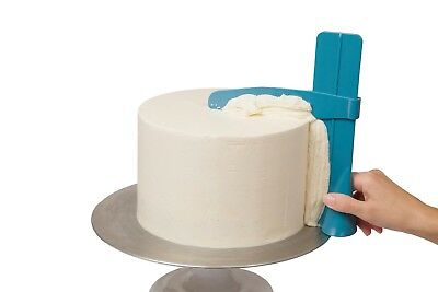 Adjustable  Cake Smoother and Scraper Frosting Icing and Fondant Tool