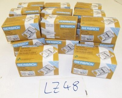 20x 250 Stk. Bierbach Fugenkrallen 3,8/10 Tackerkrallen Twin Panel Clips