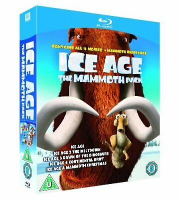 Ice Age 1-4 plus Mammoth Christmas The Mammoth Collection  [Blu-ray] [2002]