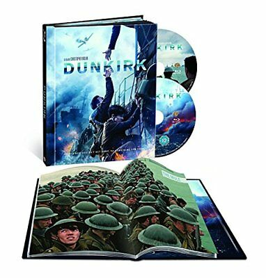 Dunkirk - Limited Edition Filmbook Blu-ray Includes Digital UV Copy [2017] [Re