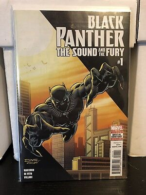 Black Panther Sound And The Fury #1 First Issue Di Vito Art Marvel Comics MCU