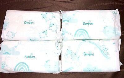 Pampers Sensitive Perfume-free Baby Wipes Refill 4 Packs of 60 wipes, 240 Wipes