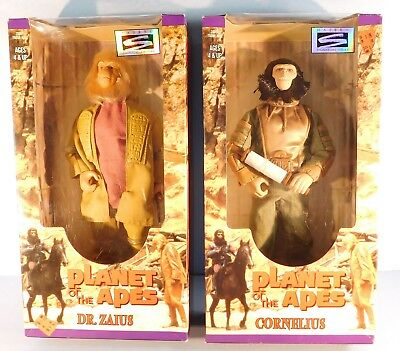 """Lot of (2) Qty.1998 HASBRO PLANET OF THE APES  12"""" Scale Action Figure's"""