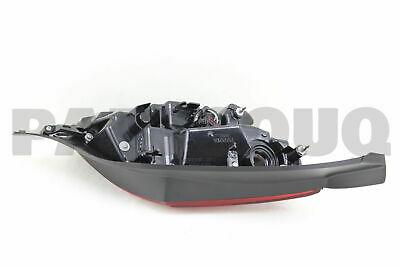 8155124130 Genuine Toyota LENS, REAR COMBINATION LAMP, RH 81551-24130
