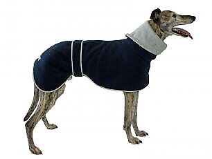 Cosipet Greyhound Polo Coat, 76 cm, Blue
