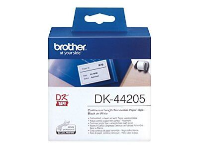 Brother DK44205 Removable Label