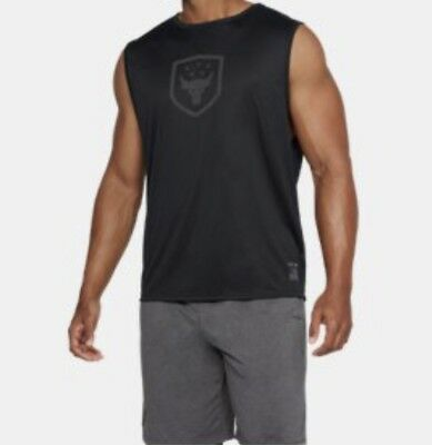 f57dfaa8673aa Under Armour Nwt Project Rock Brahma Bull Muscle Tank Made In Usa Men S  Size 2Xl