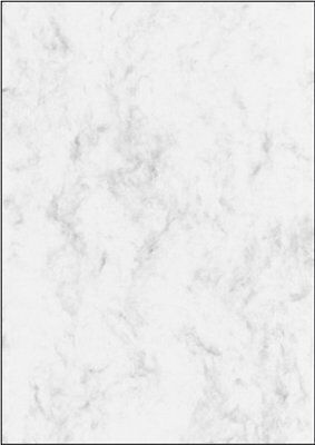 Sigel DP396 Marbled Writing Paper A4 grey, 200 gsm double sided 50 sheets