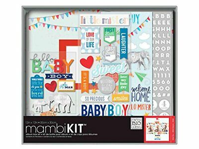 Me and My Big Ideas Me and My Big Ideas Boxed Album Kit 12 x 12-Inch-Cool Baby B