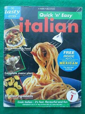 Tasty Kitchen Quick 'n' easy Cooking partwork # 1 Italian