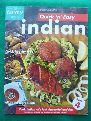 Tasty Kitchen Quick 'n' easy Cooking partwork # 4 Indian