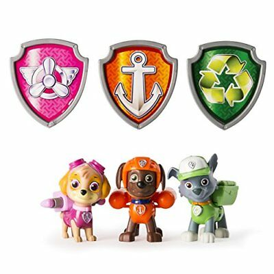 Paw Patrol Action Pack Pups Set 5 Skye, Zuma And Rocky Styles Vary
