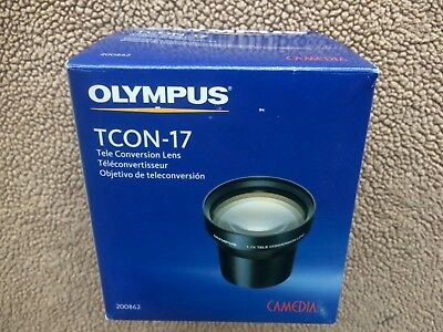 olympus tcon-17 Tele Conversion Lens with Adaptor for Canon Powershot S5IS