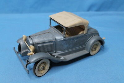 Rare! Vintage 1950s Hubley 1930 Model A Roadster Metal Model Car Kit No. 854K
