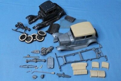 Rare! Vintage 1950s Hubley Model A Victoria & Coupe Junkyard Model Car Parts Lot