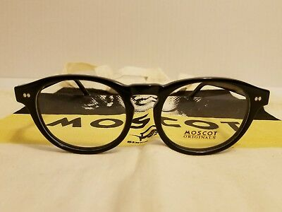New Moscot Frankie Eyeglasses 48-22-145 With Moscot Cloth Bag