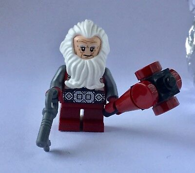 New Genuine LEGO Balin the Dwarf Minifig LOTR Hobbit 79018