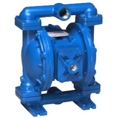S1FB1A1WANS000 SANDPIPER Double Diaphragm Pump, Air Operated, 1 In.