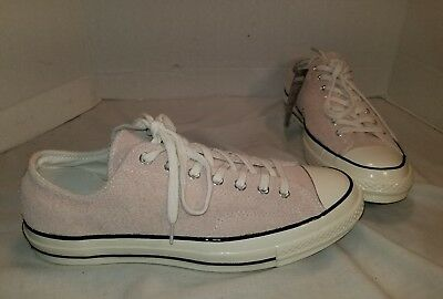 New Converse Chuck Taylor All Star '70 Dusk Pink Suede Lo Sneakers Size Men 10