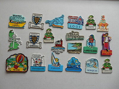 One Selected Rubber Souvenir Fridge Magnet from Cornwall