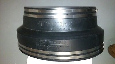 Mission Coupling Clay to Plastic or Cast Iron - PIPECONX PCX02-1515