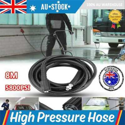 New 8 M High Pressure Water Cleaner Hose Male To Male Connection Washer Hose