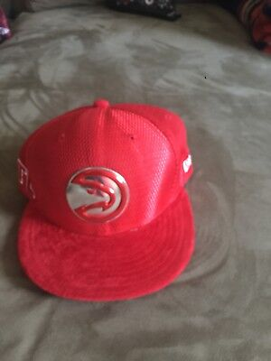 reputable site ef433 d52ed Atlanta Hawks New Era 9FIFTY NBA Draft Official On Court Snapback Hat Cap  950