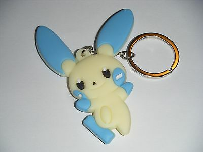 Pokemon Zorua Rubber Keychain 2 Inches Double Sided US Seller
