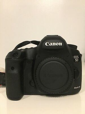 Canon EOS 5D Mark III DSLR Body in Great Condition!