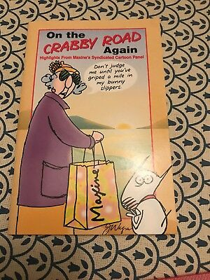 "NEW HALLMARK Classic Maxine ""On The Crabby Road Again"" Paperback Comic Book"
