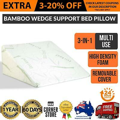 Bamboo Wedge Support Bed Pillow