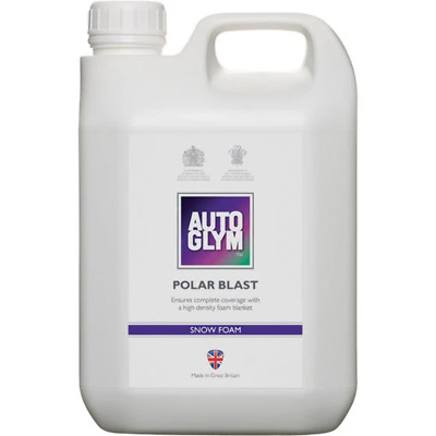 Autoglym Polar Blast A Super Rich Thick Snow Foam 2.5L = 25 Full Strength Washes