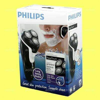 Philips AT610 AquaTouch Wet and Dry Rechargeable Electric Men Rotary Shaver