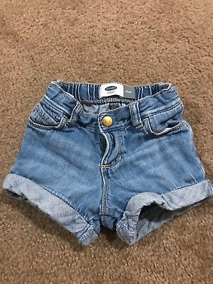Toddler Girl Old Navy cuffed Denim Shorts 2T
