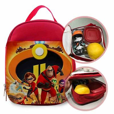 incredibles 2 poster Kids lunch Bag / Personalized Kids Bag
