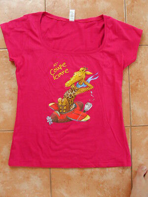 T-Shirt, Damen, Coupe Icare, pink
