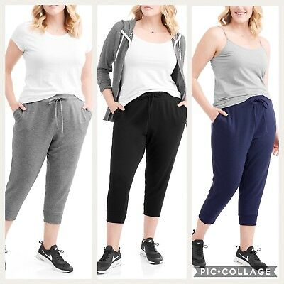 fe76ac8e29e Terra   Sky Women s Plus Size Althleisure Jogger Sweat Pants 0X 1X 2X 3X