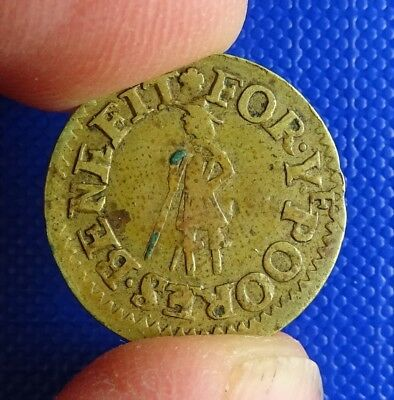 Hampshire, Andover, Town Farthing, 1666.D14.