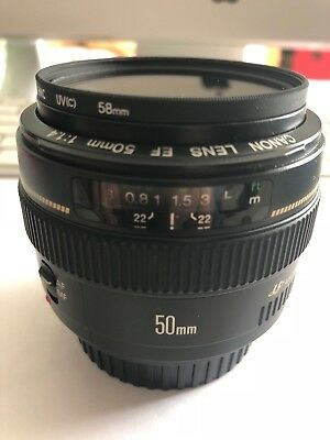 Canon Ef 50Mm F 1:1.4 Usm Ultrasonic