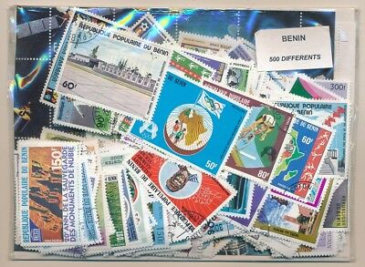 Benin US 500 stamps different