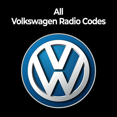 VW Radio Code | All Volkswagen Radio Codes Unlock Service Beetle/Polo/Jetta/Golf