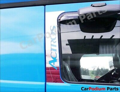 MERCEDES ACTROS  Door Pillar Post Trim 2 doors S. Steel