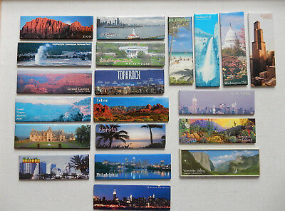 One Selected Mostly Panoramic Souvenir Fridge Magnet from the USA