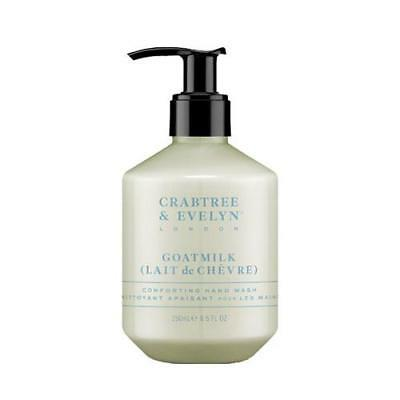 Crabtree & Evelyn goatmilk 250ml lave main Distributeur pompe