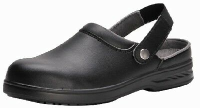 Safety Clog Healthcare Nurse Carer Scrub NHS Spa Shoe Protective Durable - FW82