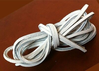 "72"" Rawhide Leather Shoelaces Sperry TopSider Moccasin Strings Boat Shoe Laces"