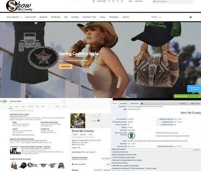 Show Me Country™Trademarked Brand and Business For Sale