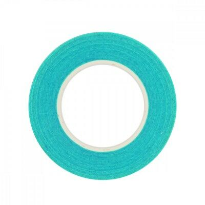 Rico Design Floral Crepe Tape 12mm 27.5m turquoise blue paper poetry